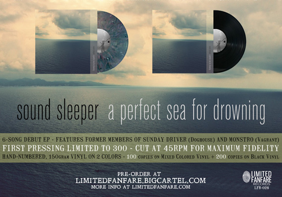 sound sleeper - a perfect sea for drowning