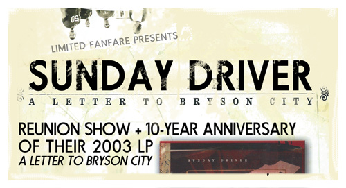 Sunday Driver - Reunion Show - 3/29/13